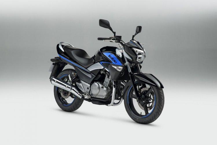 Suzuki Inazuma special edition UK Black Blue