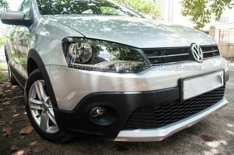 2014 VW Cross Polo facelift IAB headlight