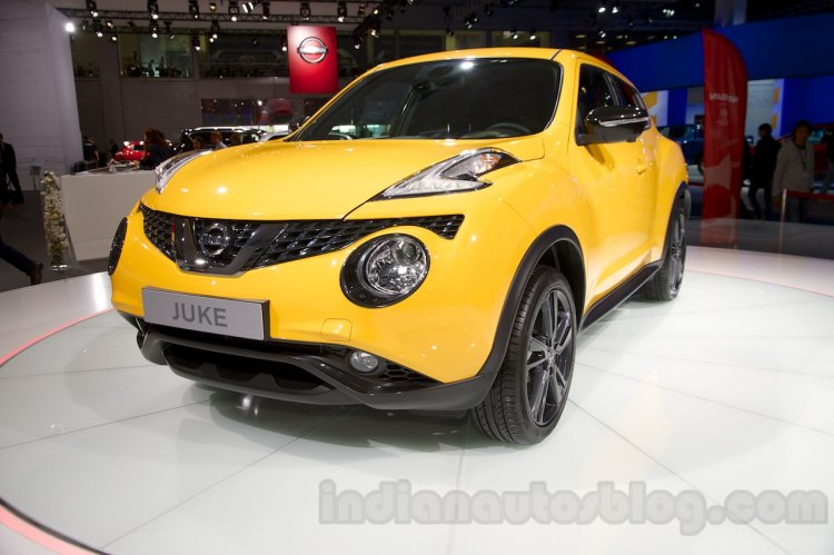 2015 Nissan Juke at the 2014 Moscow Motor Show front
