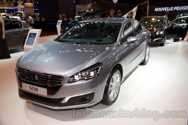 2015 Peugeot 508 sedan at the 2014 Moscow Motor Show (5)