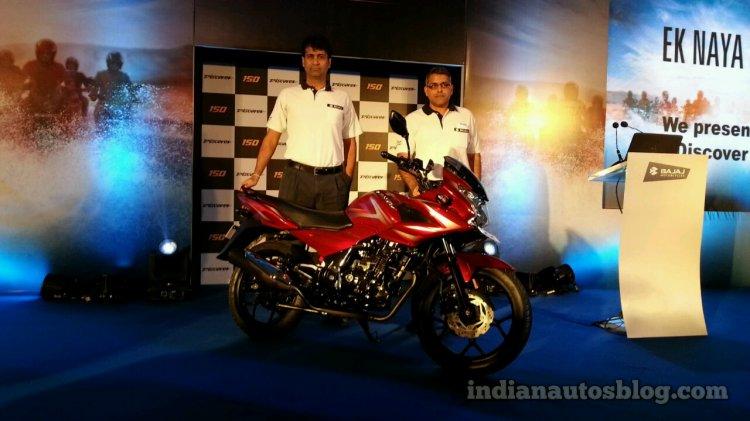 Bajaj Discover 150F launch
