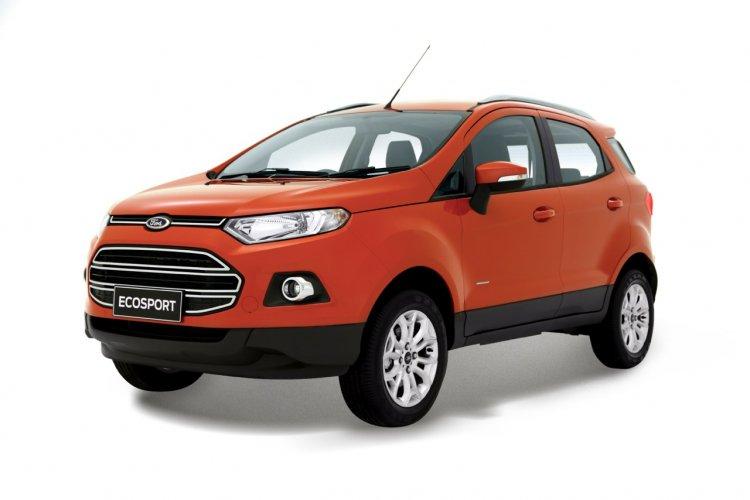 Ford EcoSport India spec press image