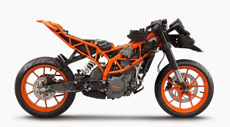KTM RC 200 chassis