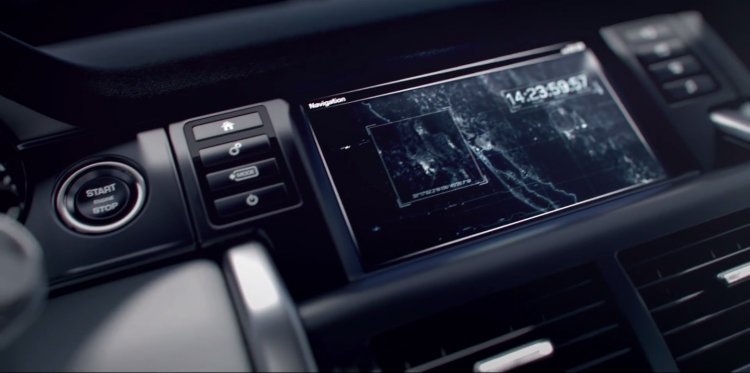 Land Rover Discovery Sport interior teased