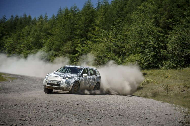 Land Rover Discovery Sport testing teaser off road