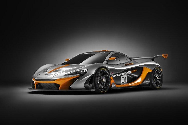 McLaren P1 GTR Concept front three quarter