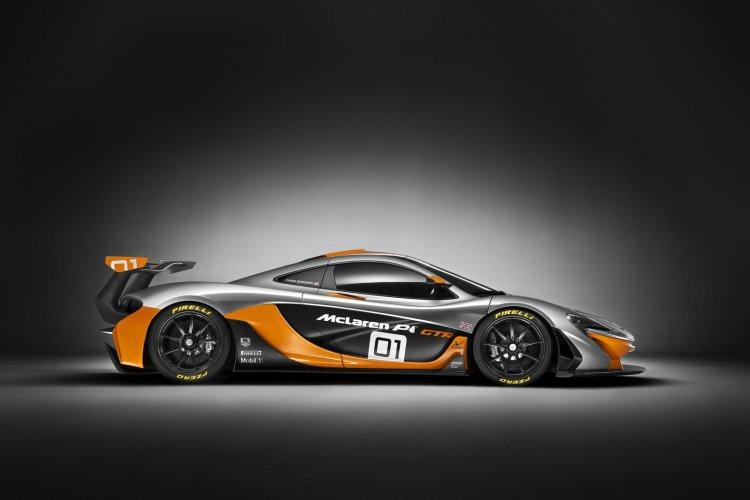 McLaren P1 GTR Concept profile