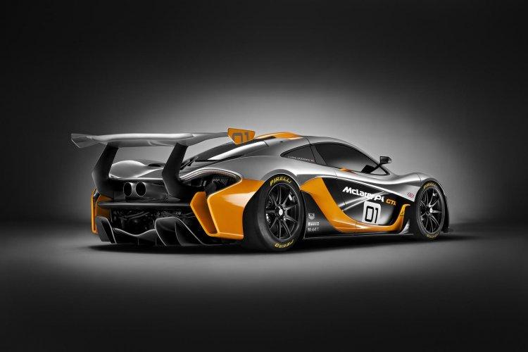McLaren P1 GTR Concept rear three quarter