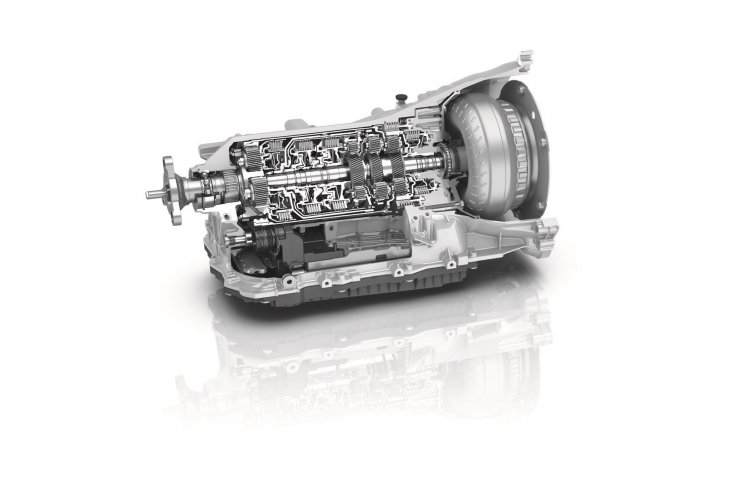 New ZF 8HP 8-speed transmission