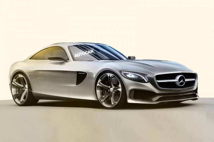 Rendering Mercedes AMG-GT