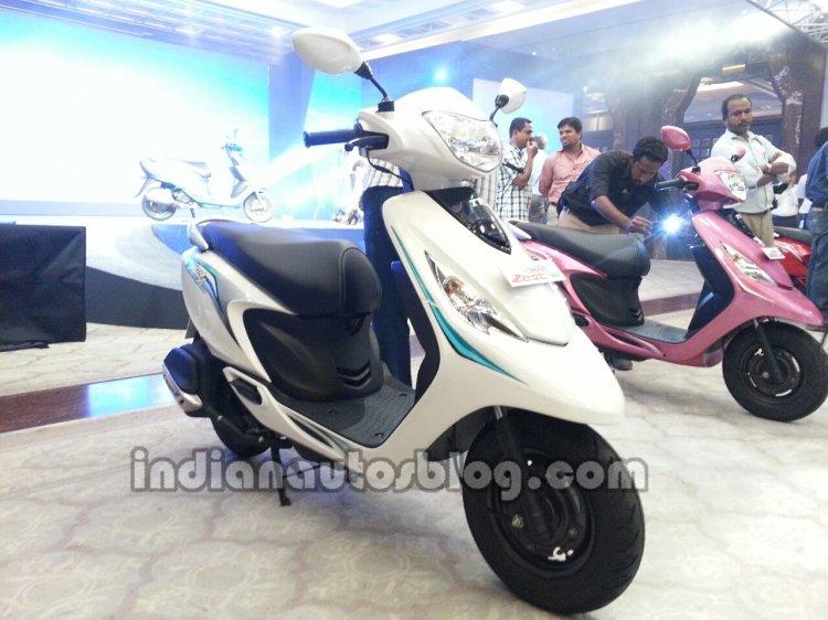 TVS Scooty Zest 110 launch