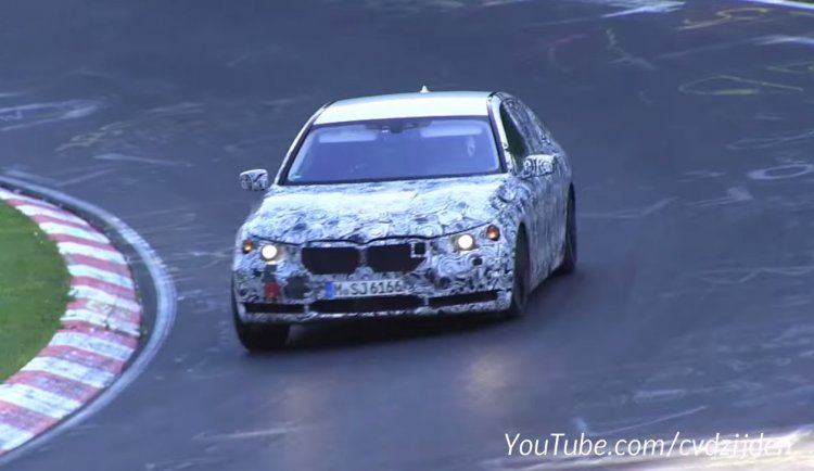 2016 BMW 7 Series spied Germany