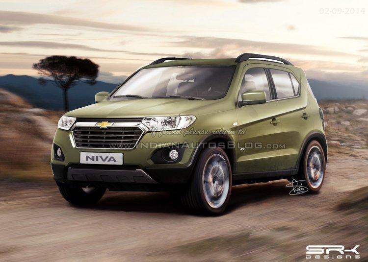 2016 Chevrolet Niva production version render