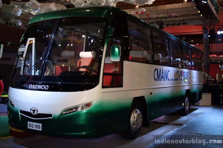 Daewoo Bus BF 106 at the Philippines International Motor Show 2014