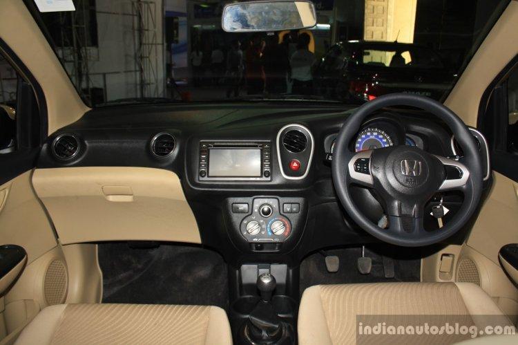 Honda Mobilio interior at the NADA Auto Show Nepal
