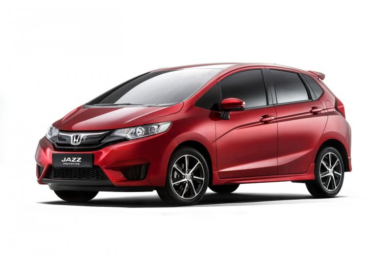 New Honda Jazz prototype Europe press shot