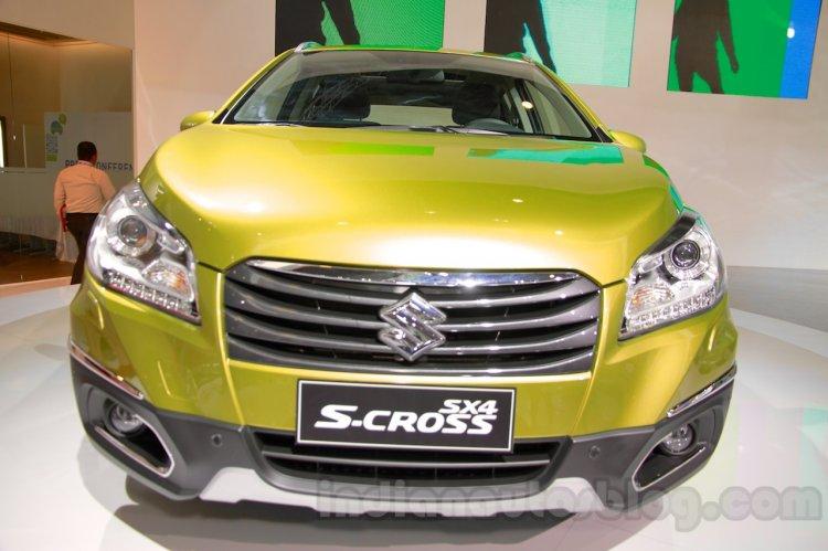 Suzuki SX-4 S-Cross at the Indonesia International Motor Show 2014