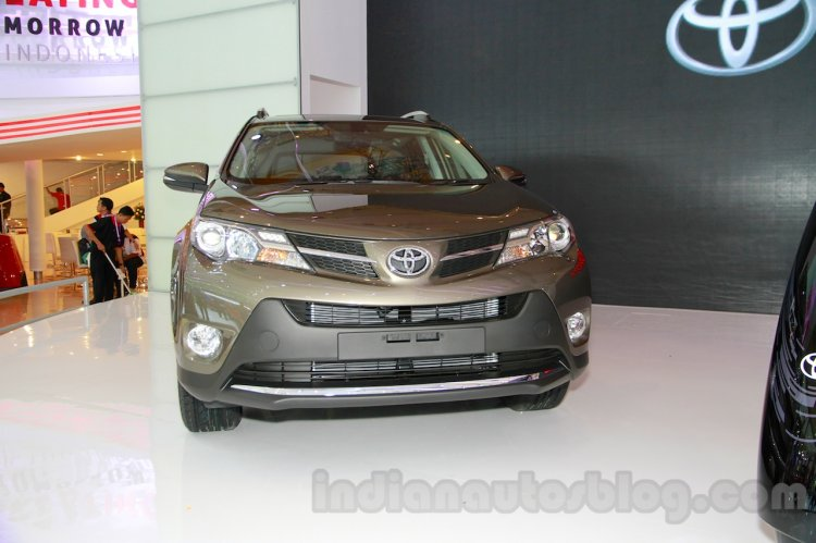 Toyota RAV4 front at the 2014 Indonesia International Motor Show