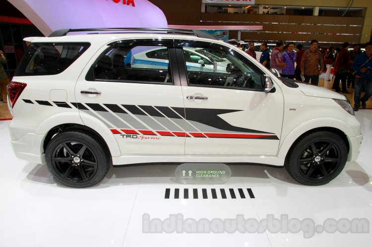 Toyota Rush TRD Sportivo at the 2014 Indonesia International Motor Show side