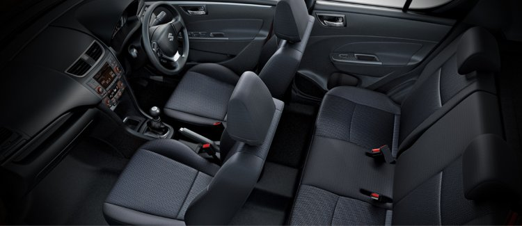 2015 Maruti Swift facelift interior