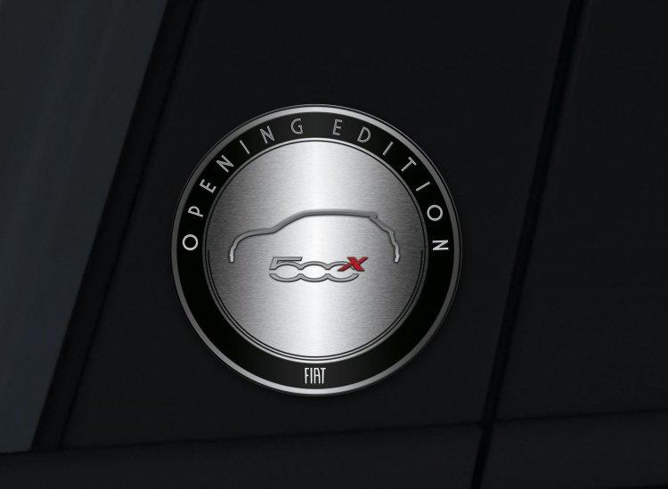 Fiat 500X Opening Edition press shot