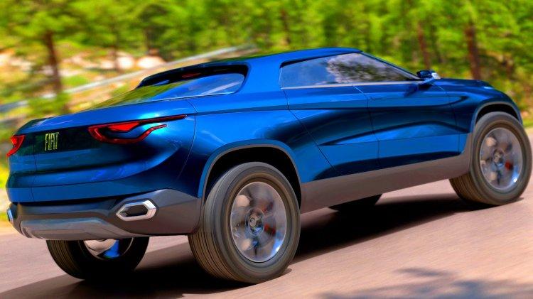 Fiat FCC4 Concept rear three quarters right