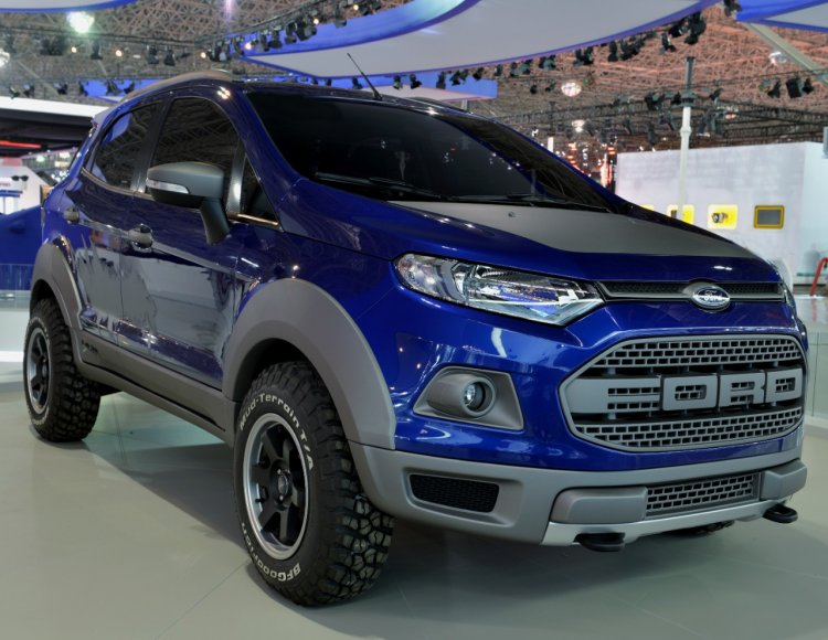 Ford EcoSport Strom Concept at the 2014 Sao Paulo Motor Show live image