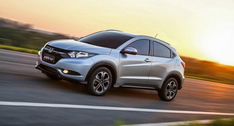 Honda HR-V Brazil press shot