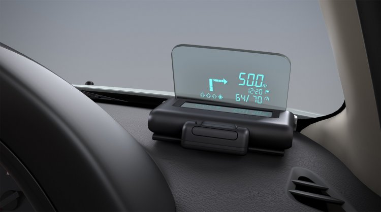 Nissan Terrano Anniversary Edition Head up display