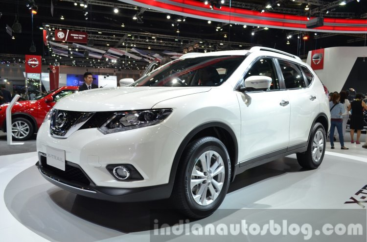 2015 Nissan X-Trail at the 2014 Thailand International Motor Expo