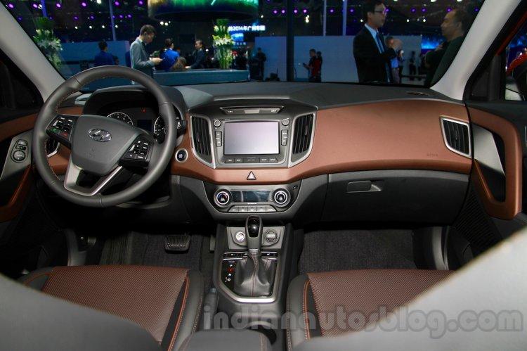 Hyundai ix25 dasboardat 2014 Guangzhou Motor Show