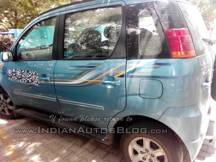 Mahindra Quanto AMT side spied