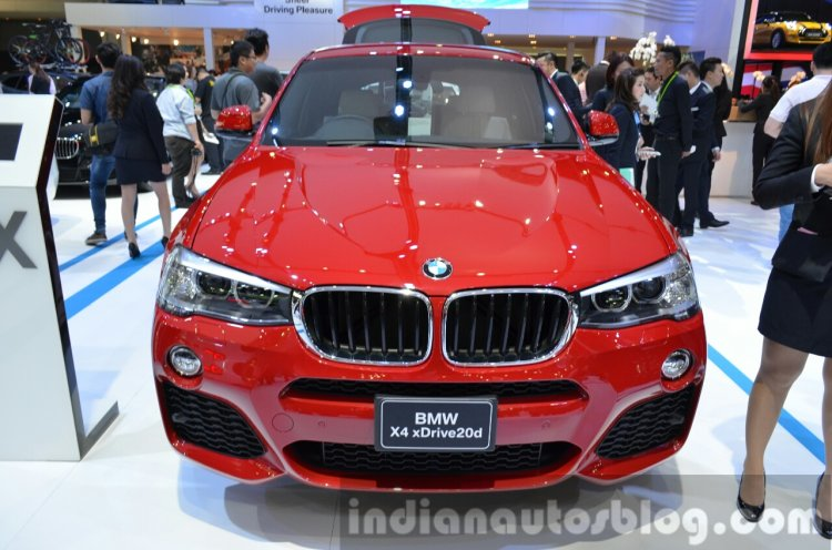 2015 BMW X4 Front at the 2014 Thailand Motor Expo