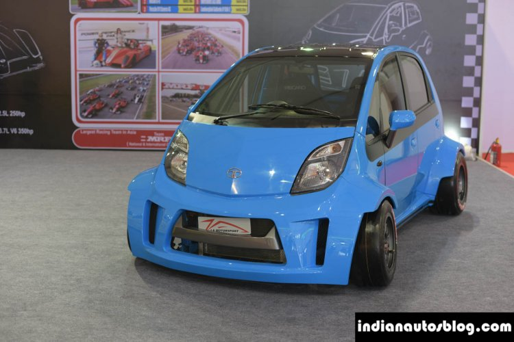 JA Motorsport Tata Super Nano front at 2014 APS