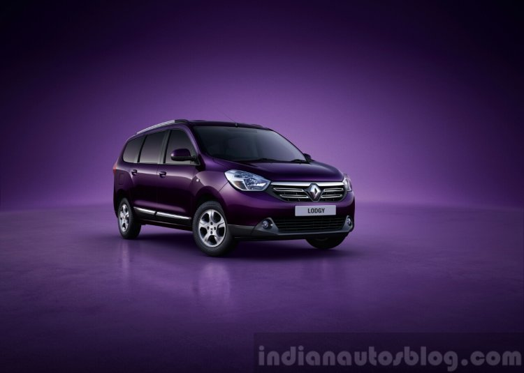 Renault Lodgy for India first image