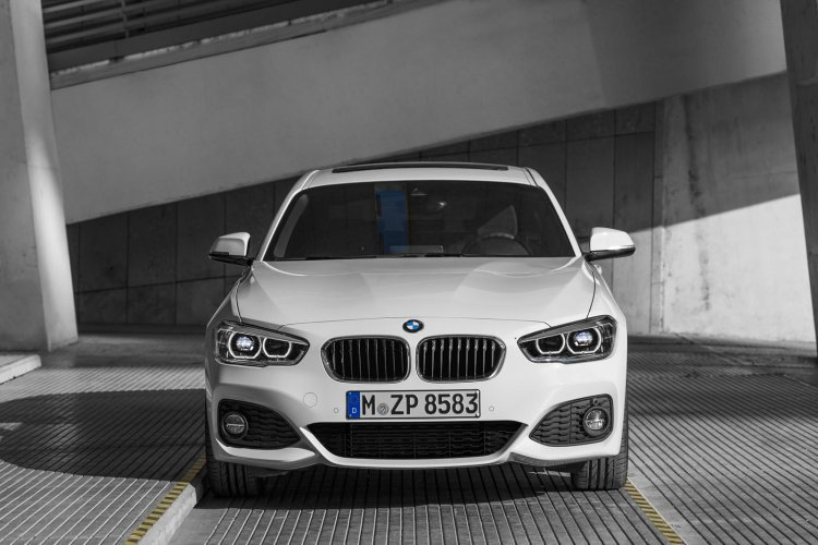 2016 BMW 1 Series facelift front