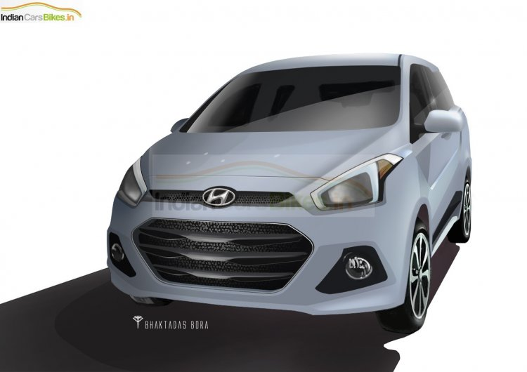 2016 Hyundai India MPV rendering