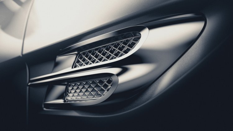 Bentley Bentayga teaser image vent