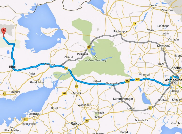 Discover Amazing India Honda route