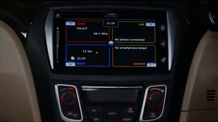 Maruti Smartplay system on Maruti Ciaz Z+ variant