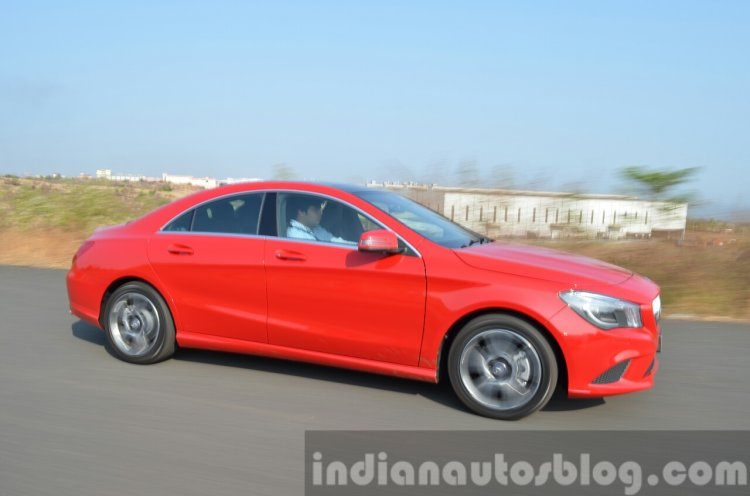 Mercedes CLA 200 CDI dynamic side Review