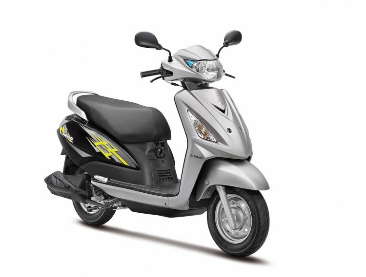 New Suzuki Swish 125 front quarter