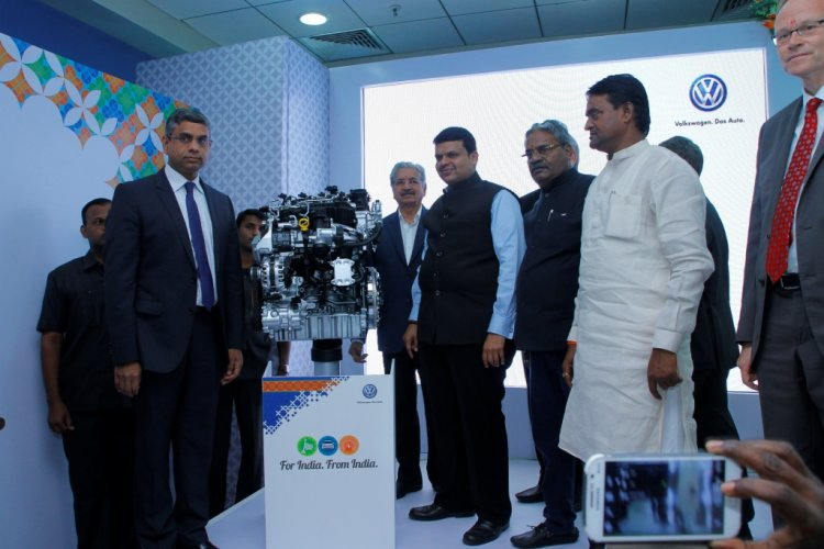 Volkswagen India Engine Assembly Plant Inaugration in Chakan Pune