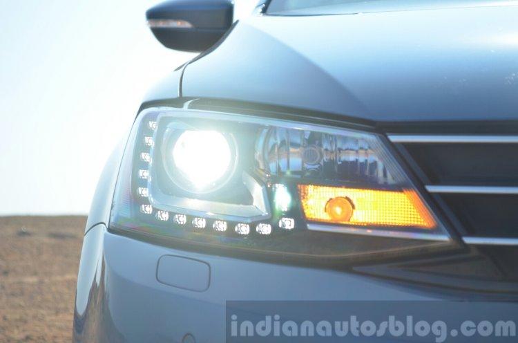 2015 VW Jetta TDI facelift headlight Review