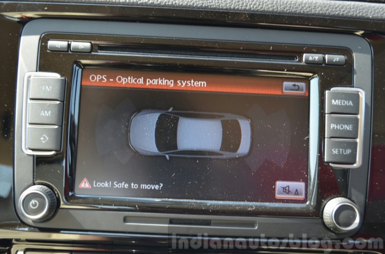 2015 VW Jetta TDI facelift parking sensors Review