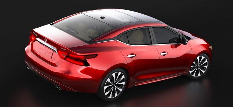 2016 Nissan Maxima rear three quarter