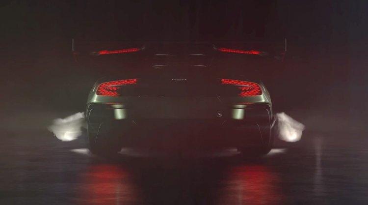 Aston Martin Vulcan rear teaser