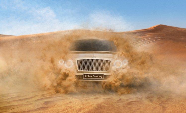 2016 Bentley Bentayga first glimpse
