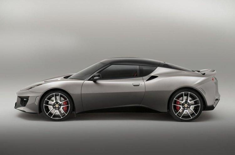 Lotus Evora 400 side profile