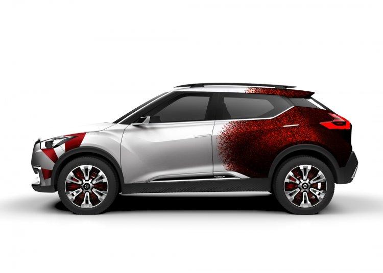Nissan Kicks Samba concept side